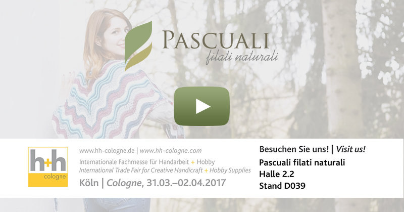 Strickwolle Pascuali auf der h + h cologne