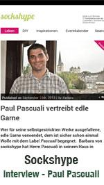 Sockshype - Interview mit Pascuali